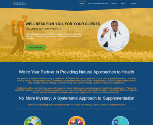 Health Products Distributors International, Tucker Strategic Consulting